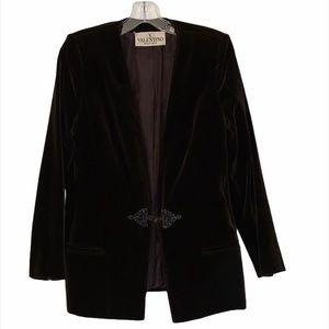 Vintage Valentino Boutique velour blazer